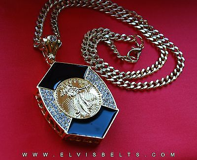 Elvis Style Last concert Coin Pendant Now Only £24.95
