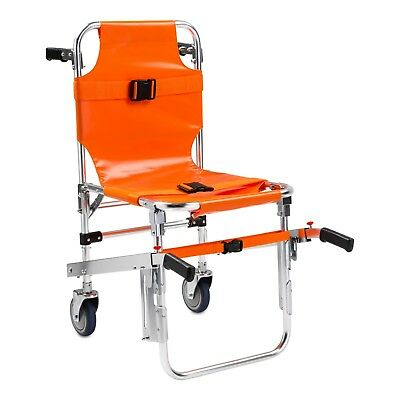 LINE2design Stair Chair Lift EMS Quick Release Buckle Patient Restraints Orange