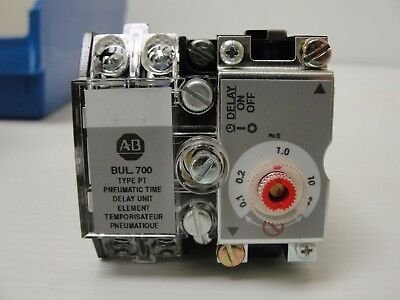 New Allen Bradley Pneumatic Time-Delay Attachment, 700-PT