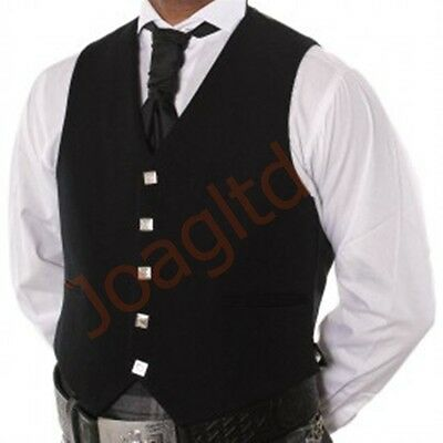 "Kilt Argyle Waist Coat - Vest/ Scottish Kilt Vest -Size Available 38"" To 50-"