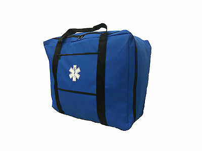 LINE2design Gear Bag - EMS EMT Paramedic With Star of Life Logo - Navy Blue