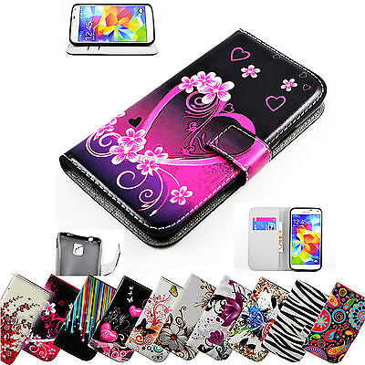 Wallet Flip Leather Phone Case Cover For Samsung Galaxy S6 Edge Note 5 4 3 S5 S4