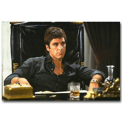 Scarface Classic Movie Silk Poster Print 12x18 24x36 inch Al Pacino