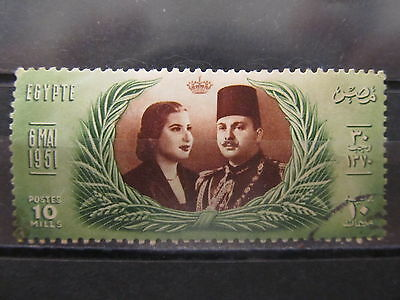 A2P29 EGYPT 1951 10m USED #1