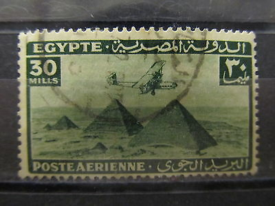 A2P29 EGYPT AIR POST STAMP 1933-38 30m USED