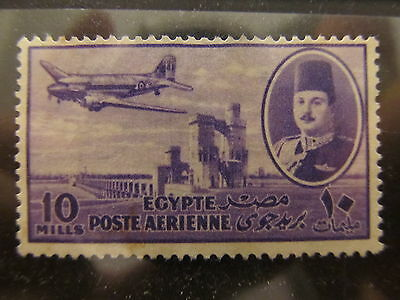 A2P29 EGYPT AIR POST STAMP 1947 10m USED #3