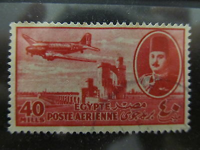 A2P29 EGYPT AIR POST STAMP 1947 40m USED #3
