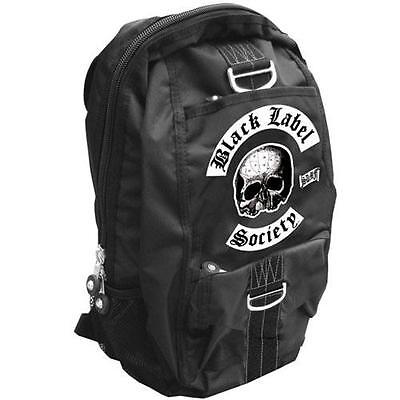 Black Label Society - Skull Logo Backpack / Rucksack - New & Official With Tag