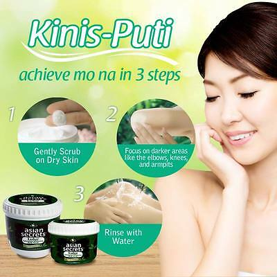 ASIAN SECRET LULUR WHITENING BODY SCRUB WITH GREEN TEA AND VITAMIN E 135grams