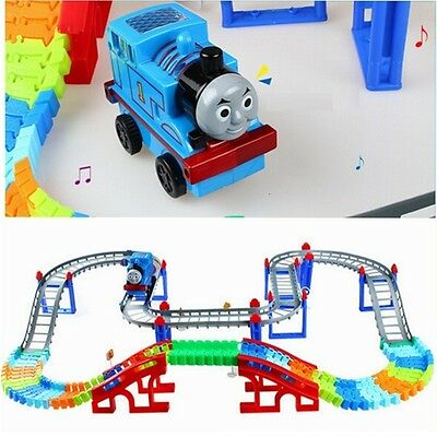 Thomas And Friends Electric Music Model Train with Rainway Toy Kids Gift