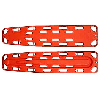Emergency Spinal Immobilization Board Medical EMS Backboard w/ Speed Clip Orange