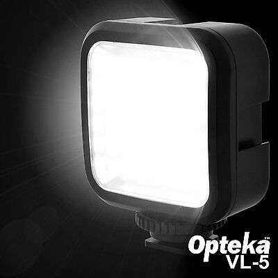 Opteka VL-5 LED Professional Studio Video Light Ultra Bright