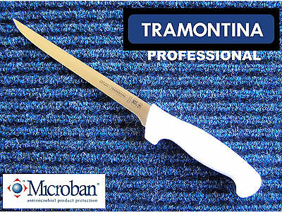 """TRAMONTINA Professional 7"""" Fish Filleting / Boning Knife - Made in Brazil - Chef"""