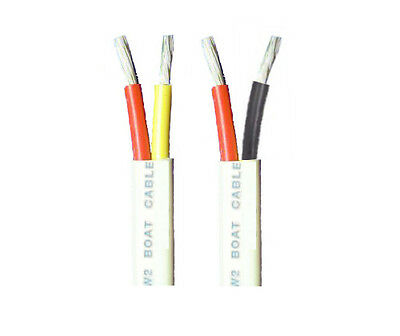 8/2 AWG Gauge Duplex Cable Tinned Marine Wire 10 up to 200 Feet