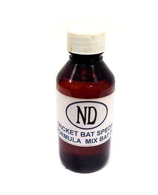 Special Formula Cricket Bat Protection Preparation Linseed Oil Bottle 100ML