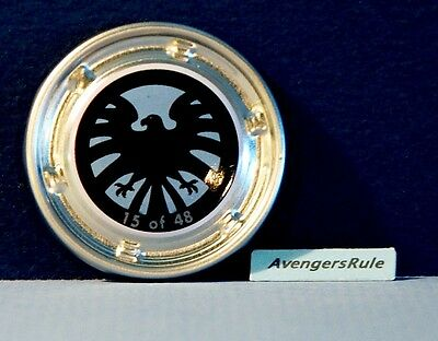 Marvel Hubsnaps #15 S.H.I.E.L.D. Logo Common