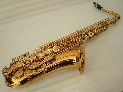 Professional Gold Tenor Saxophone Brand New