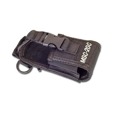 1x Funda Bolsa 65mm x 45mm x 125mm Radio Talkie Walkie MSC-20C
