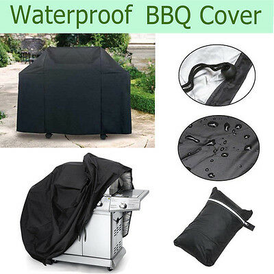 Outdoor Waterproof BBQ Cover Large Barbecue Grill Protector Patio Gas Protection