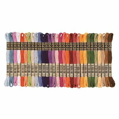 DMC Threads/Skeins Mouline Stranded Cotton 895 - 945 Cross Stitch 8 Metres