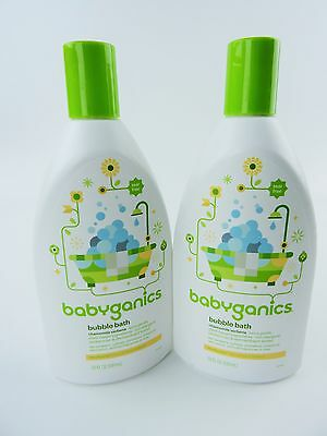 Babyganics Bubble Bath Chamomile Verbena 20 oz (Pack of 2)