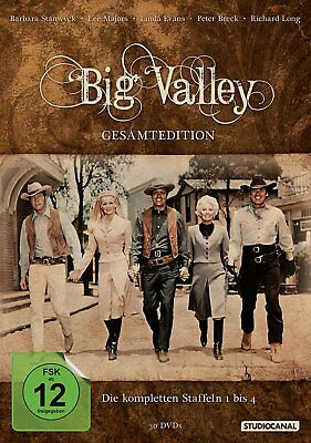 Big Valley - Gesamtedition - Season/Staffel 1+2+3+4 # 30-DVD-BOX-NEU