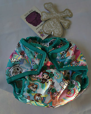 Tokidoki x Kanga Care TokiSweet One Size Rumparooz Diaper Cover ~ New with Tags!