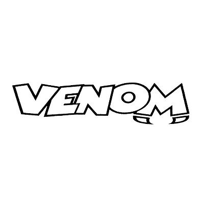 Venom Merchandise Logo 310mm x 310mm Biggish VENSTK-0061