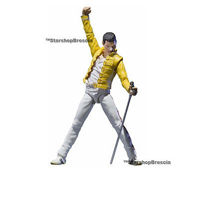 QUEEN Freddie Mercury Live at wembley stadium S.H. Figuarts Action Figure Bandai