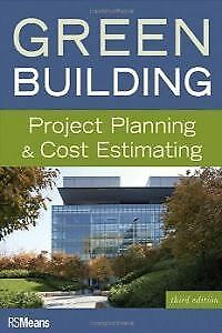 Green building:project planning and cost estimatin. ENVÍO URGENTE (ESPAÑA)