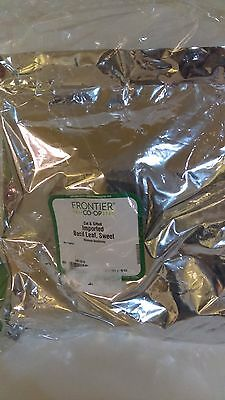 Frontier Cut & Sifted Basil Leaf, Sweet 16OZ EXP:02/2019