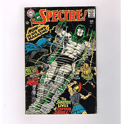 THE SPECTRE (V1) #1 Grade 6.0 Silver Age find from DC Comics!