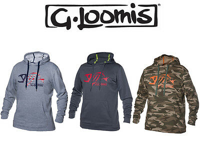 G. Loomis Mens Pullover Hoodie Sweater **CHOOSE SIZE AND COLOR**