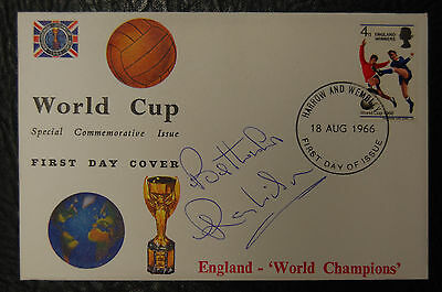 Ray Wilson Signed 1966 England World Cup Winners Football Cover