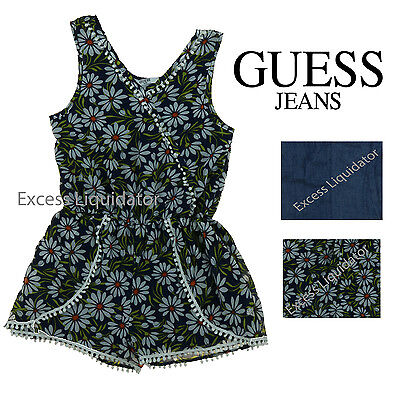 Guess Jeans Kids Girl's Romper Jumpsuit Outfit