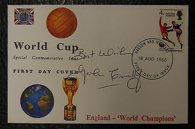 John Connelly Signed 1966 England World Cup Winners Football Cover