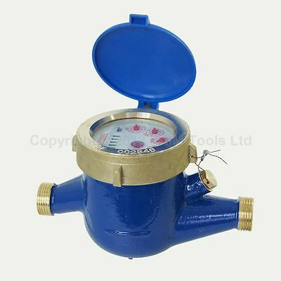 15181015 Professional Copper Water Flow Measuring Meter 15MM Cold Dry Counter