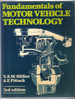 Fundamentals of Motor Vehicle Technology Fuel Cooling Bearings Axles Electrics +