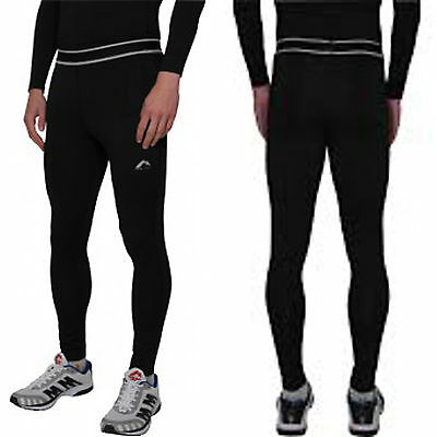 More Mile Mens Compression Running Long Tights Baselayer XS-XL