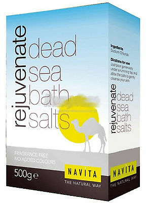 Dead Sea Spa-Bath Salts 1KG- 100% Pure Organic Natural Minerals And Magnesium