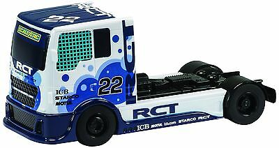 """Scalextric """"Team Scalextric"""" Racing Truck Blue #22 1:32nd Scale Slot Car"""