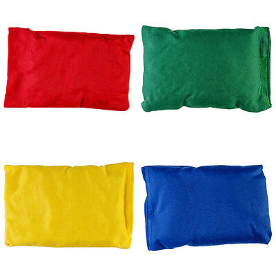 New 360 Soft Filled Kids Play Pe Games Bean Bags Pack Of 12 Different Colours