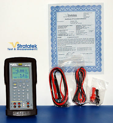 Beta-Martel MC-1200 Multifunction Process Calibrator, NIST Calibrated + Warranty