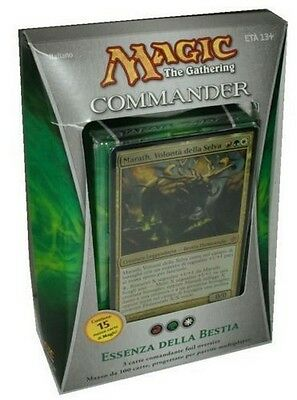 Mazzo COMMANDER Essenza della Bestia - Nature of the Beast Deck MAGIC Ita BRV