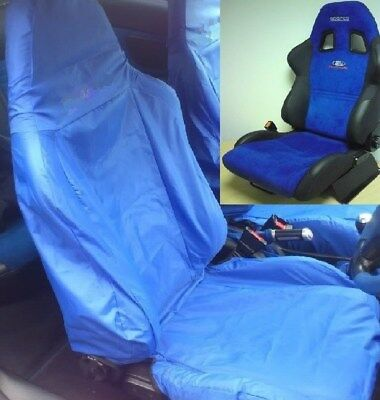 Admirable Ford Puma Racing Blue Front Sparco Car Seat Cover Machost Co Dining Chair Design Ideas Machostcouk