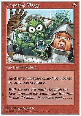4x Aspetto Imponente - Imposing Visage MTG MAGIC 5E Eng