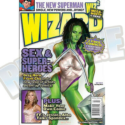 Wizard The Comic Magazine #162 Vf