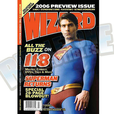Wizard The Comic Magazine #172 Vf