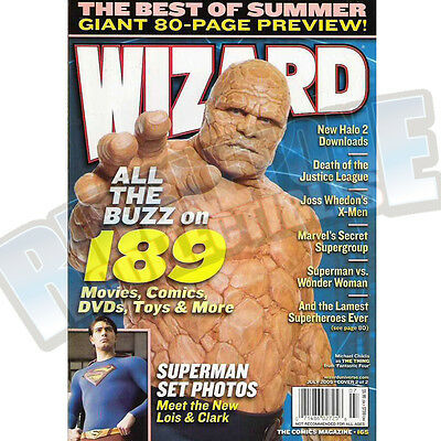 Wizard The Comic Magazine #165 Vf