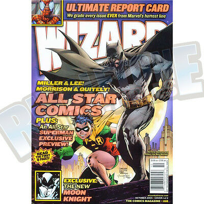 Wizard The Comic Magazine #168 Vf